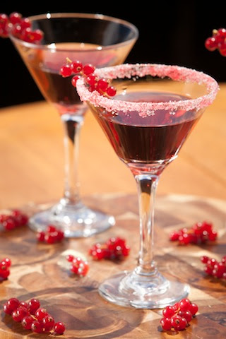 Holiday Berry Cosmo Courtesy of Ocean Vodka