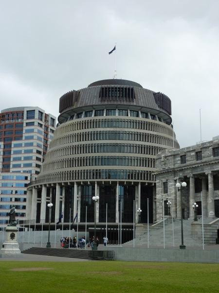 Parliament House aka The Beehive