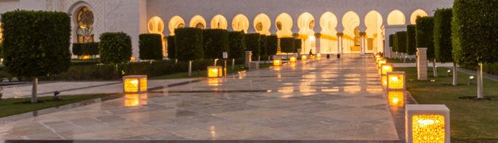 Abu Dhabi's Beauty: Sheik Zayed Grand Mosque, UAE