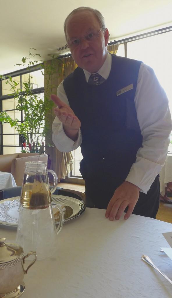 Arizona Biltmore Tea Sommelier Kevin Doyle