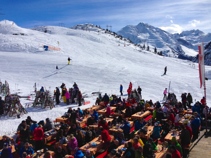 Alpine Winter Perfection is Found in Austria's Arlberg