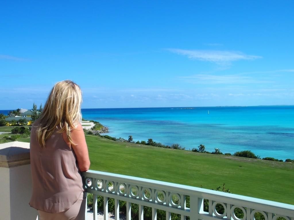 Grand Isle Resort fabulous balcony views.