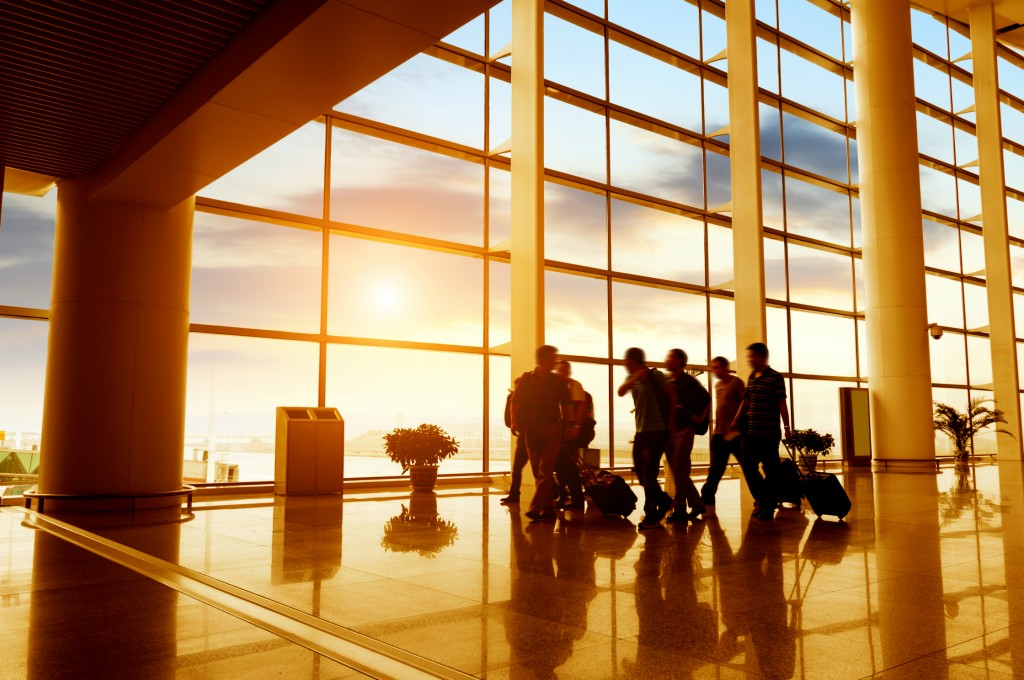 Airport Travellers ©Shutterstock