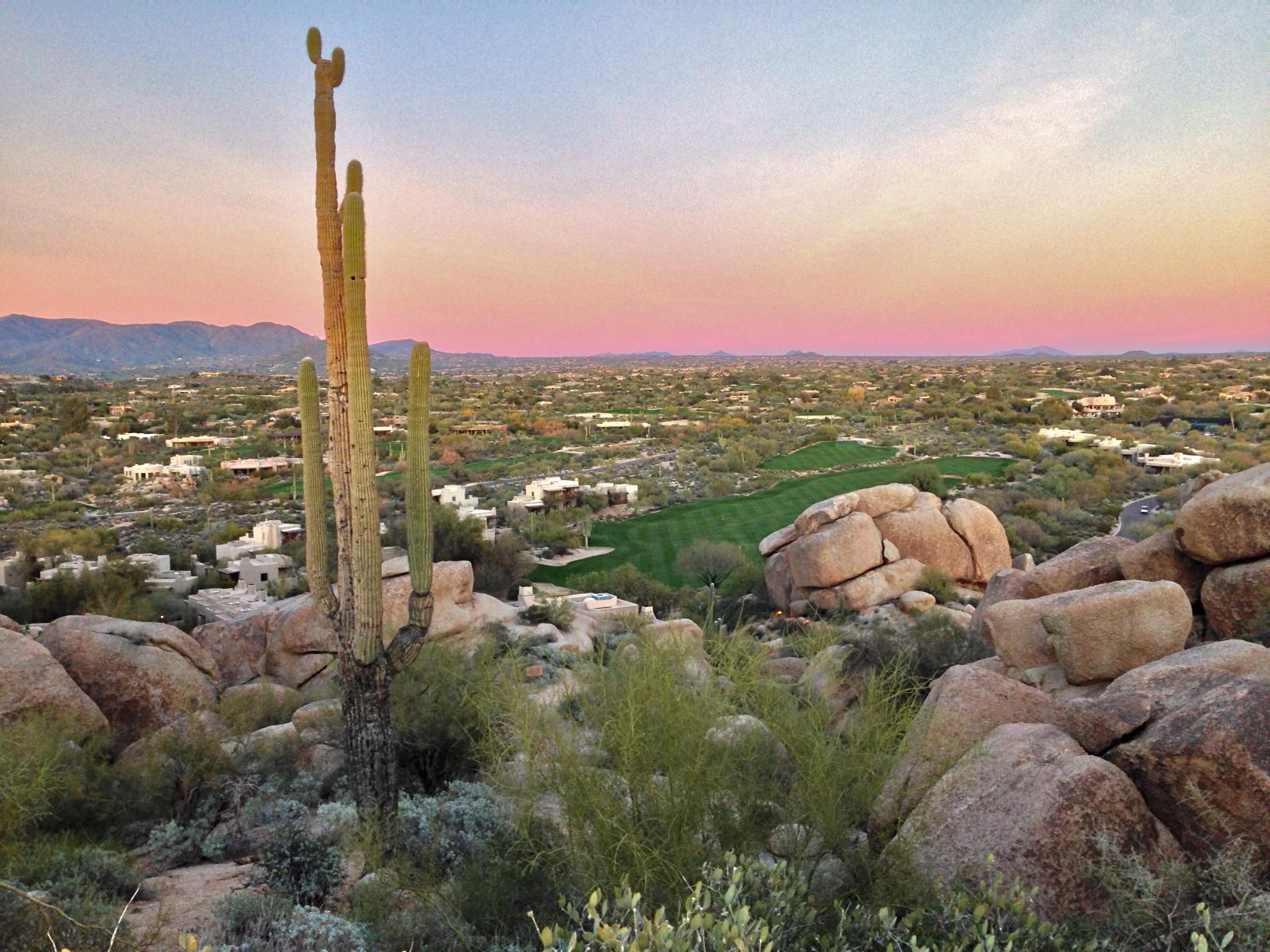 Winter Warmth, Desert Zen at The Boulders