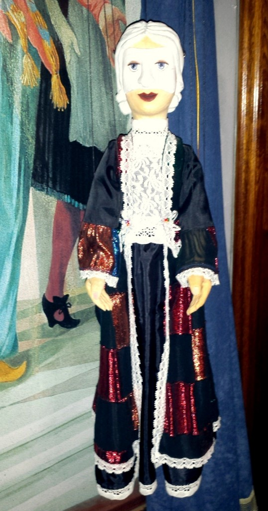 One of many marionettes found at Fairytale House