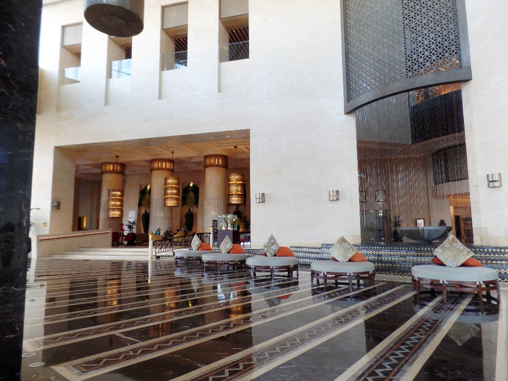 An Impressive Beginning- The Dubai Raffles Lobby