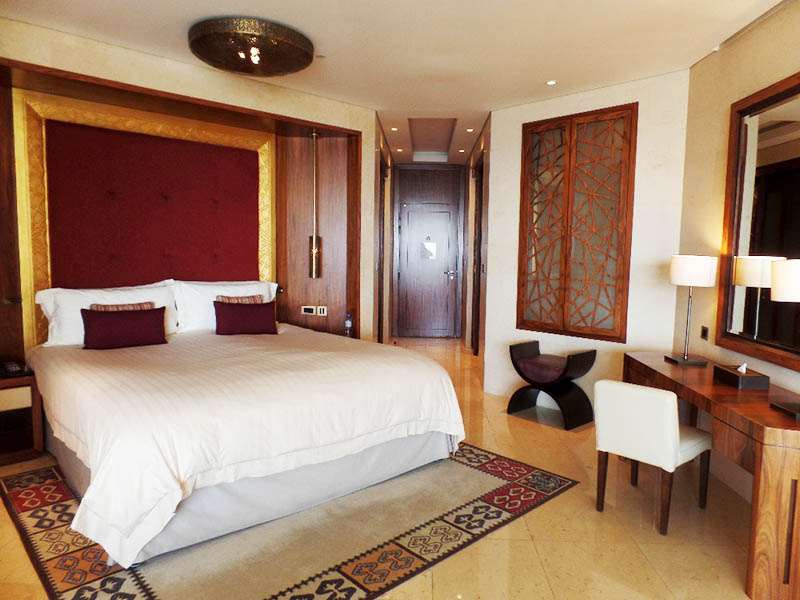 Raffles Dubai Bedroom