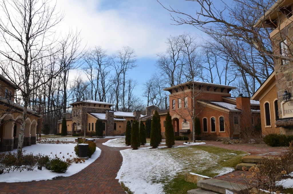 A few of the villas