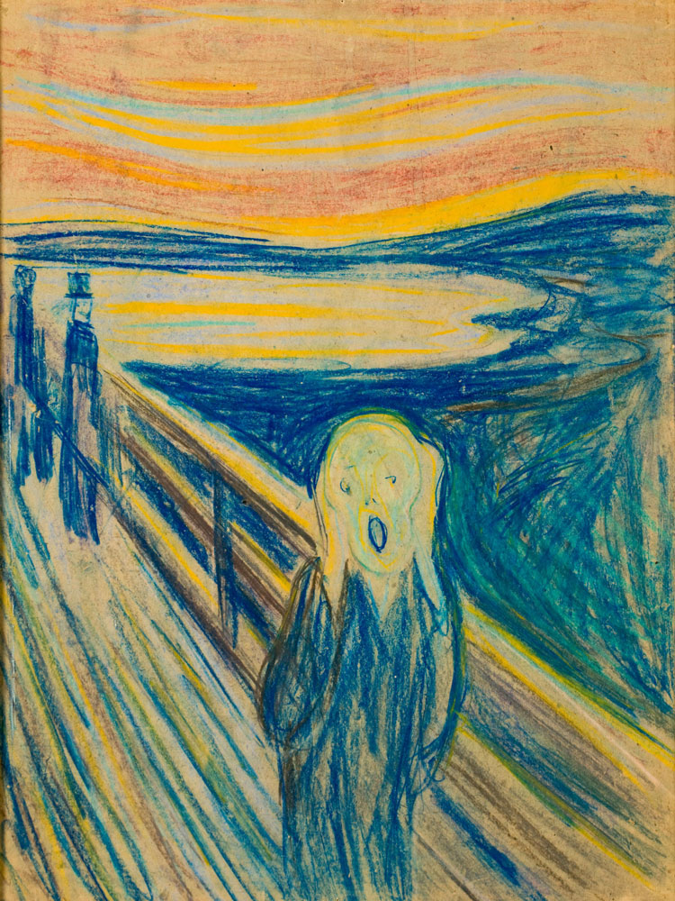 the works of vincent van gogh and edvard munch Vincent van gogh, edvard munch, two artists who never met discover the  striking parallels between the work and lives of vincent van gogh.