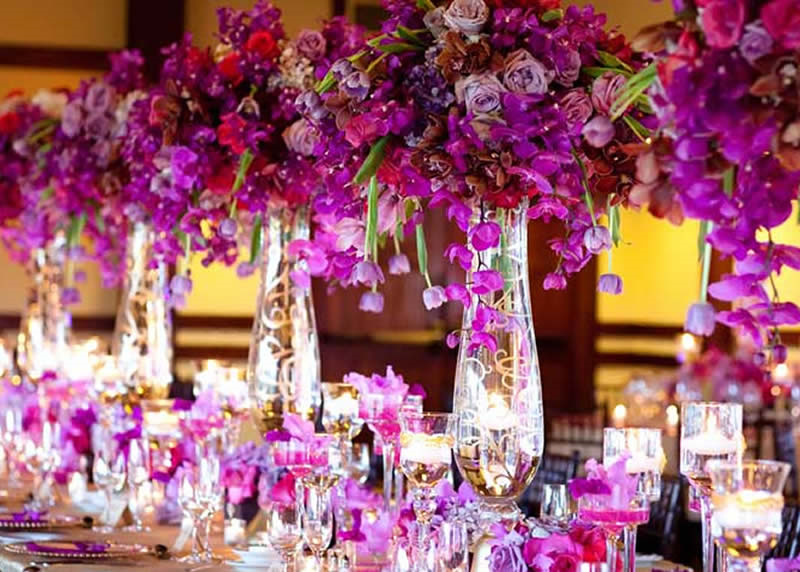 purple decorations for weddings luxe beat exclusive living the with luxury event 6886