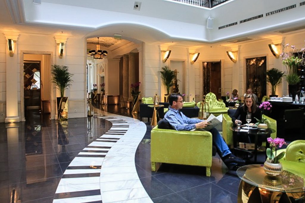 Aria Hotel Budapest Lobby