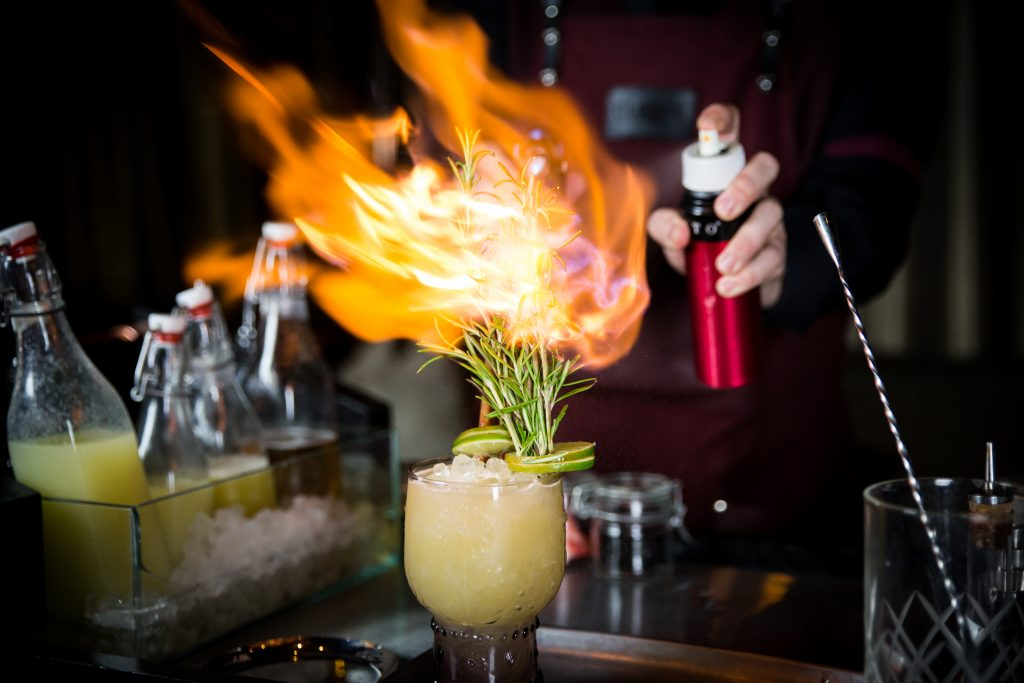 Something May Catch Fire from CliQue Bar & Lounge