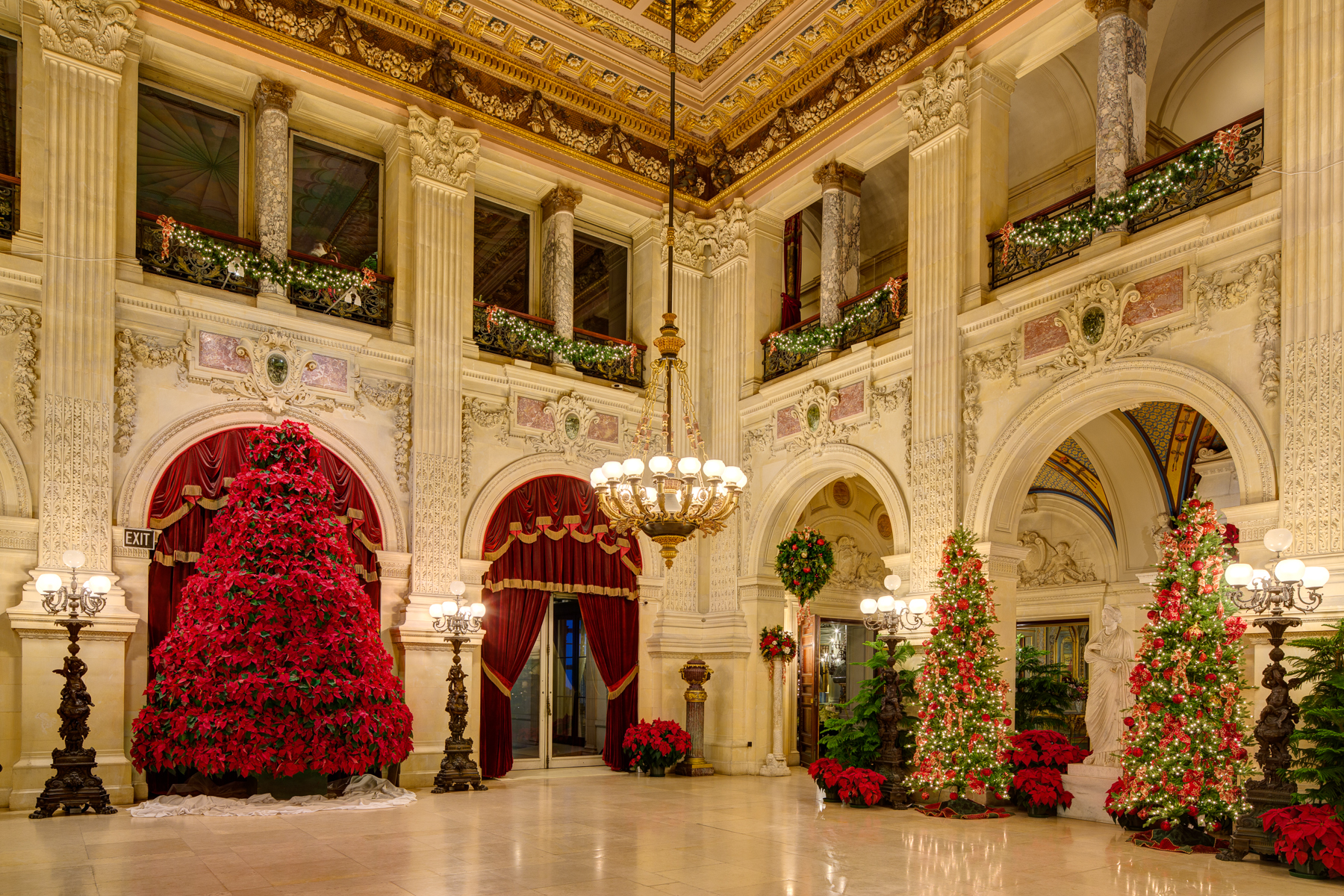 Newport Mansions Christmas 2021 Christmas At The Newport Mansions When The Gilded Age Comes To Life Luxe Beat Magazine