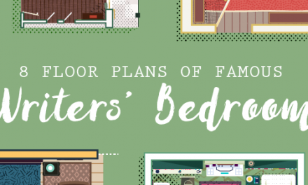 Literary Home Decor Ideas From 8 Famous Writers' Bedrooms