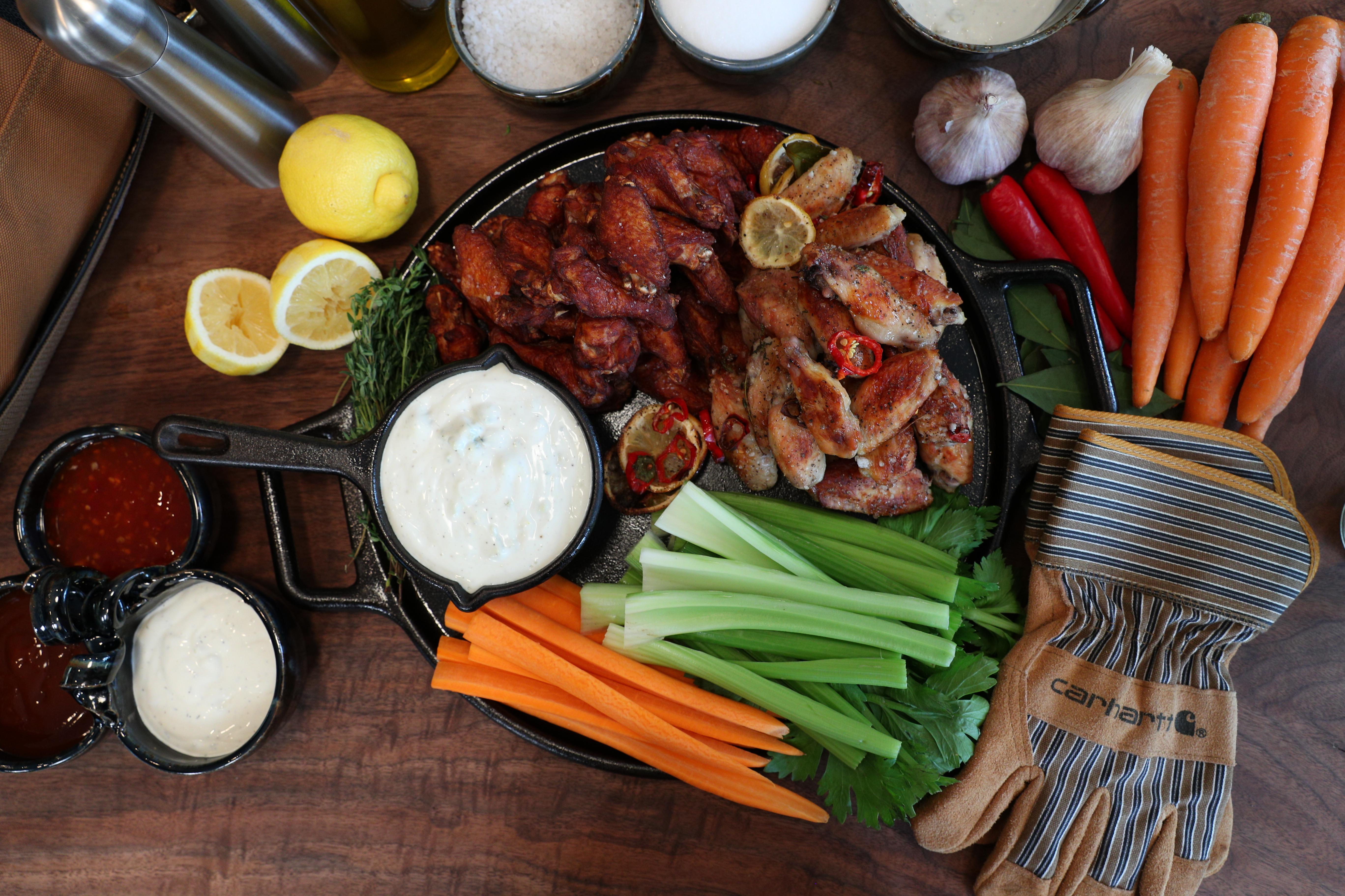 Beer-Brined Chicken Wings