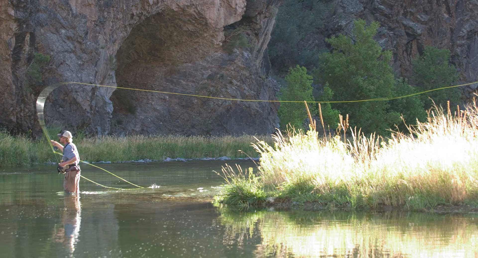 Dunton River Camp fly fishing