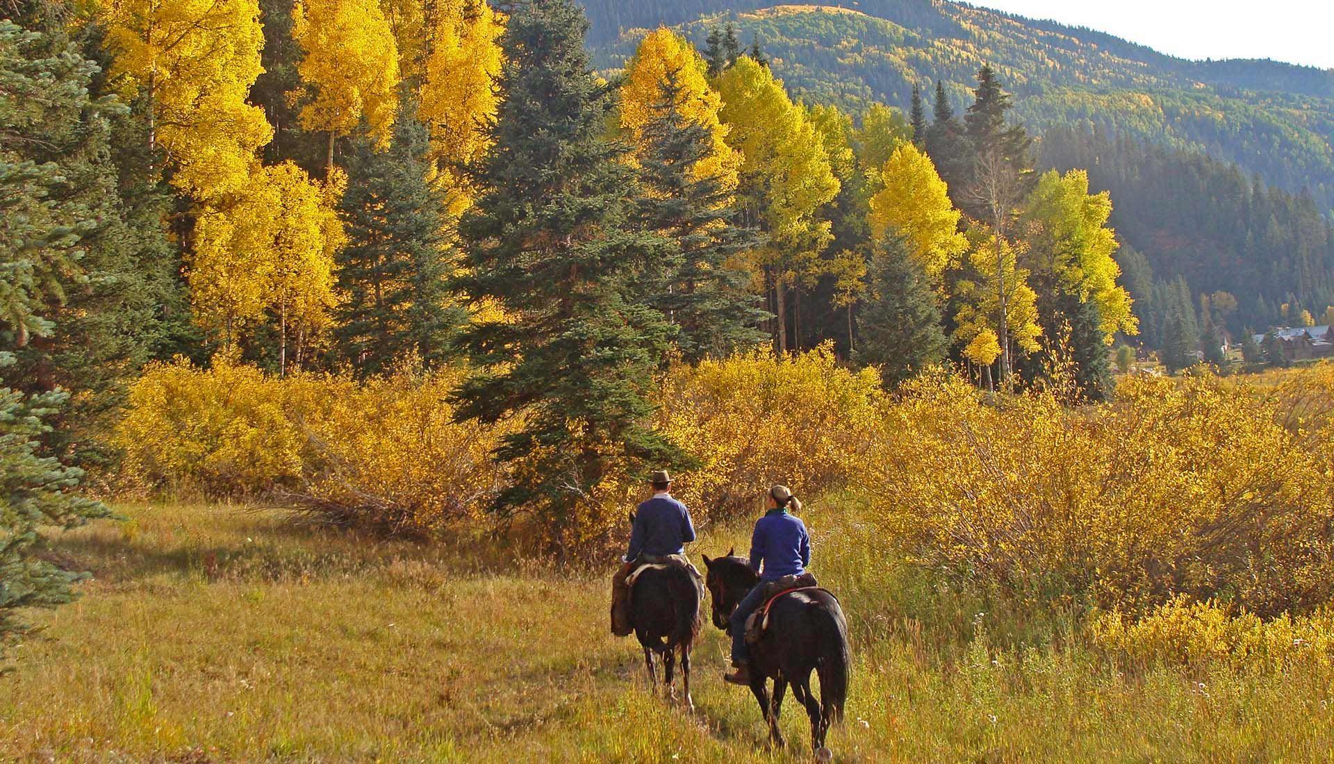 Dunton River Camp horseback riding