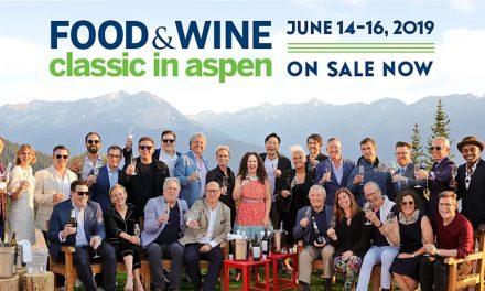 2019 FOOD & WINE Classic in Aspen, June 14 – 16, 2019