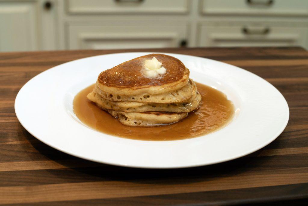 Chef Nick Stellino's Chocolate Chip Pancakes