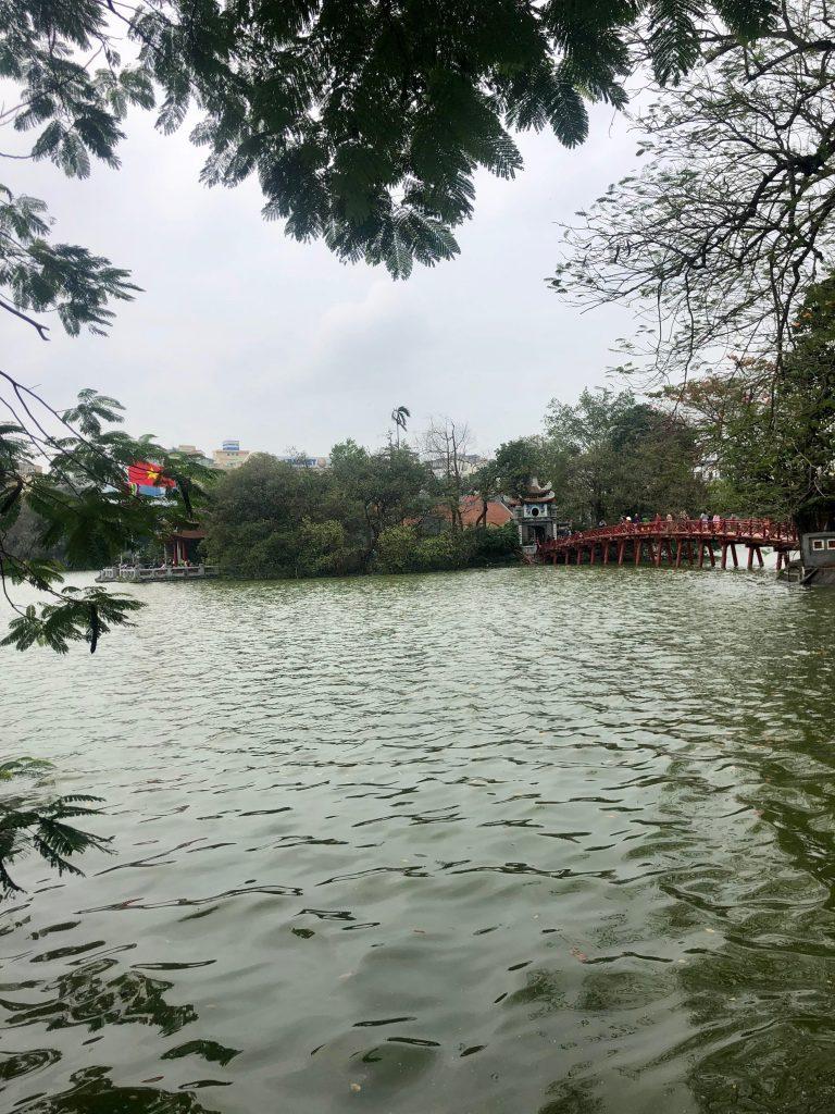 Hoàn Kiếm Lake, Hanoi, Vietnam