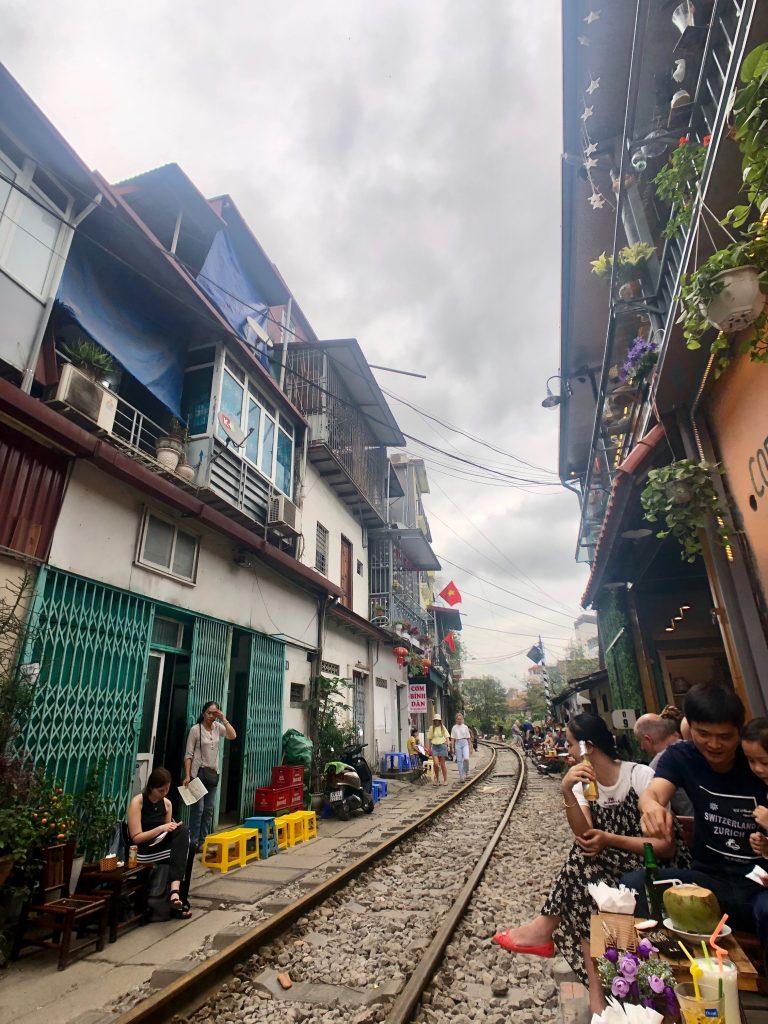 ©Domenica Jarvis Hanoi Tracks Street View angle