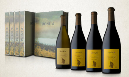 Bring World-Class Wine & Art Into Your Home with The Donum Estate's Personalized Tasting Kits