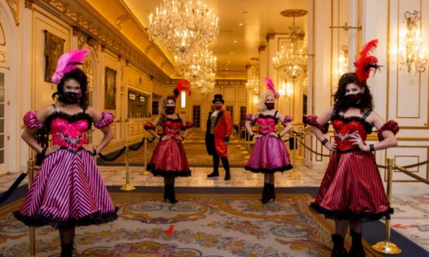 Guests wearing masks are welcome at Paris Las Vegas