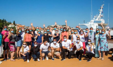 Masked Travelers Have Fun, Too, Says Katarina Line Cruises
