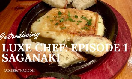 LUXE CHEF: Episode 1, Saganaki